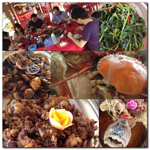 1 Golden Sea Restaurant Morib