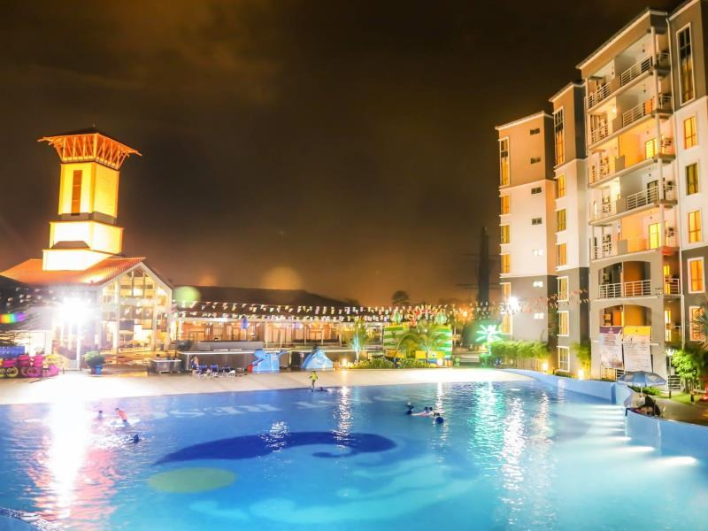 Gold Coast Malacca Night View